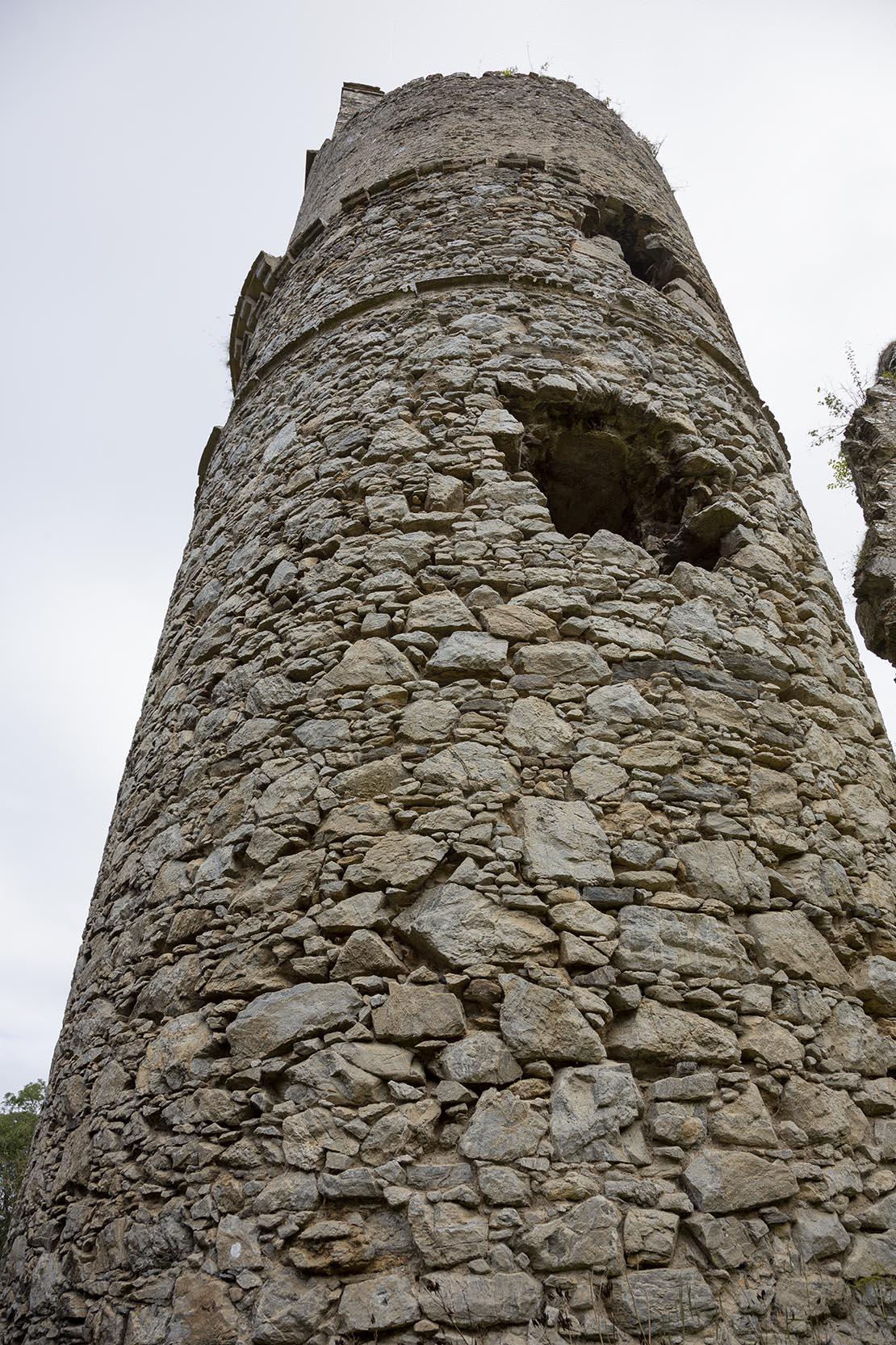 Boyne Castle near Portsoy, Aberdeenshire