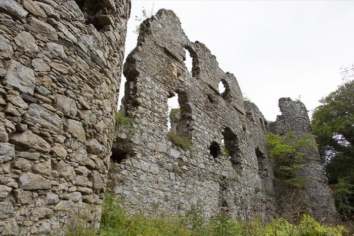 Boyne Castle, a dangerous ruin but a true hidden gem