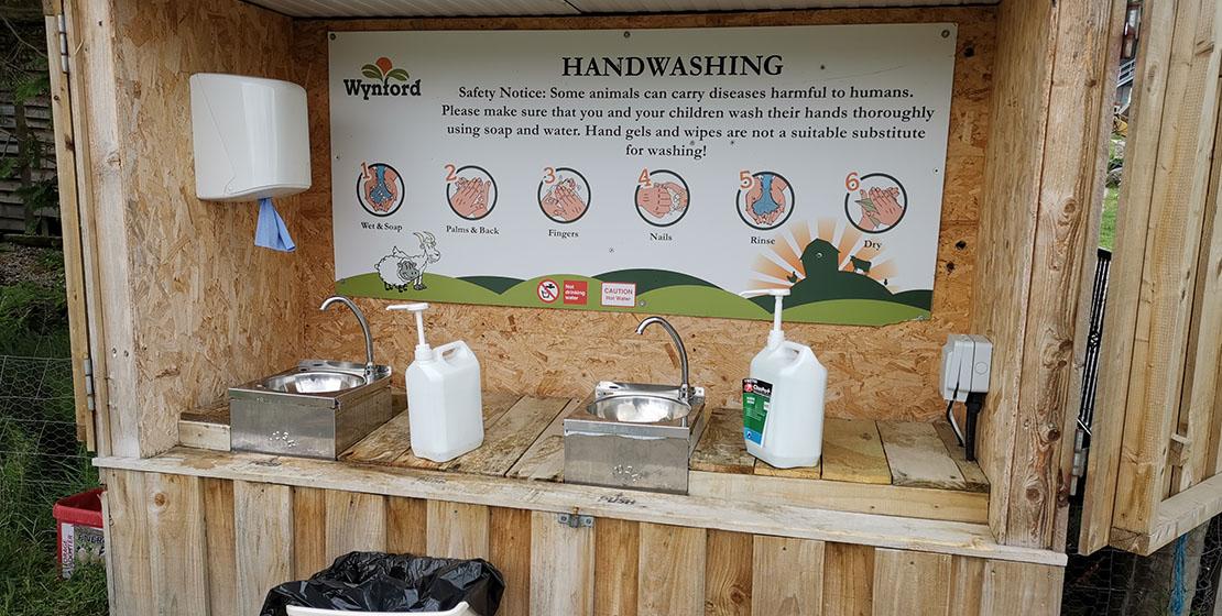Wynford Farm Park Cleaning Station