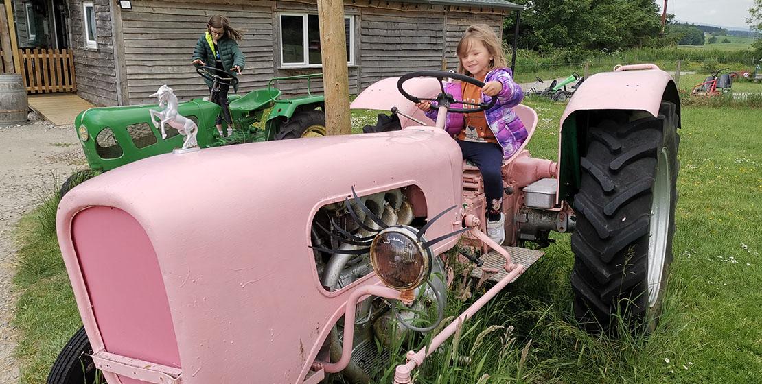 Wynford Farm Park Tractor