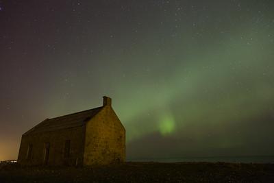 Aurora Borealis at Portgordon   Northern Lights Scotland