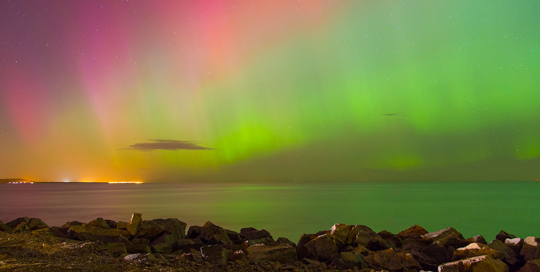 How to photograph the Northern Lights Scotland