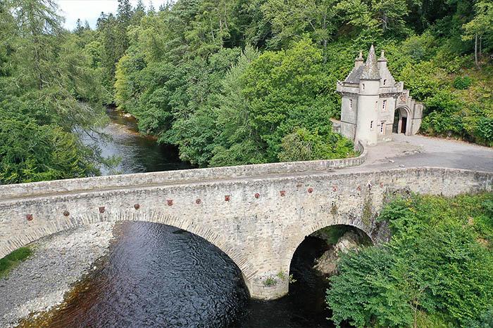 Bridge of Avon near Ballindalloch Castle in Moray