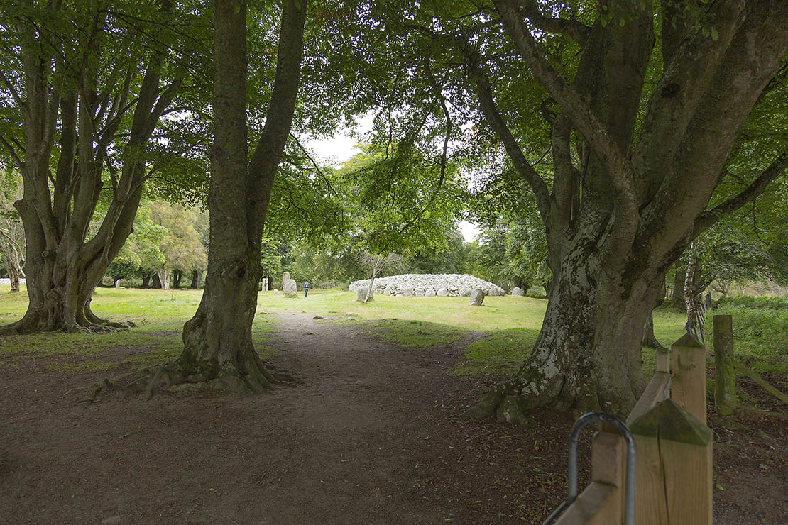 Clava Cairns in the Scottish Highlands