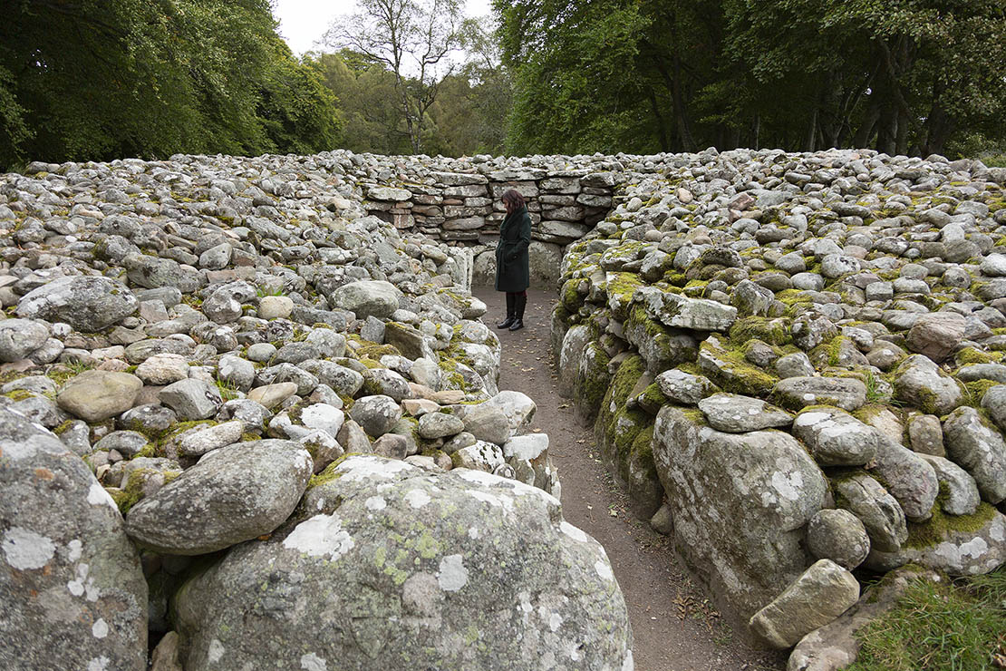 The south west cairn.