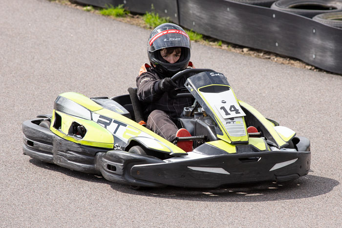 Outdoor Go Karting at Aviemore Kart Raceway
