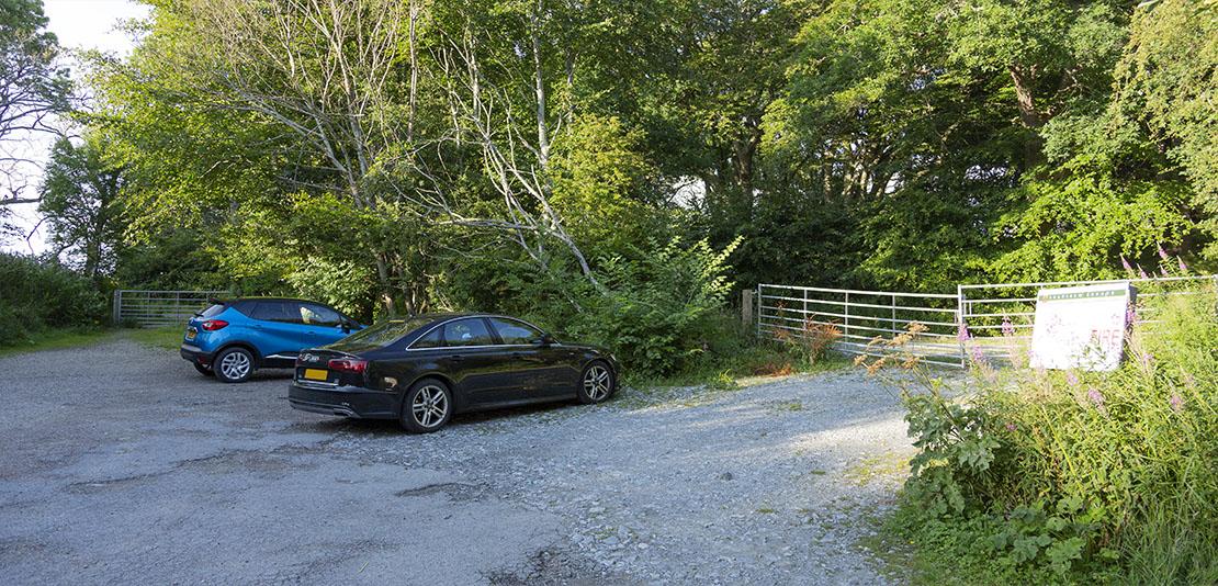 Crannoch Wood car park