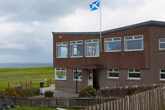 Golspie Golf Club, in Sutherland, on the Dornoch Firth