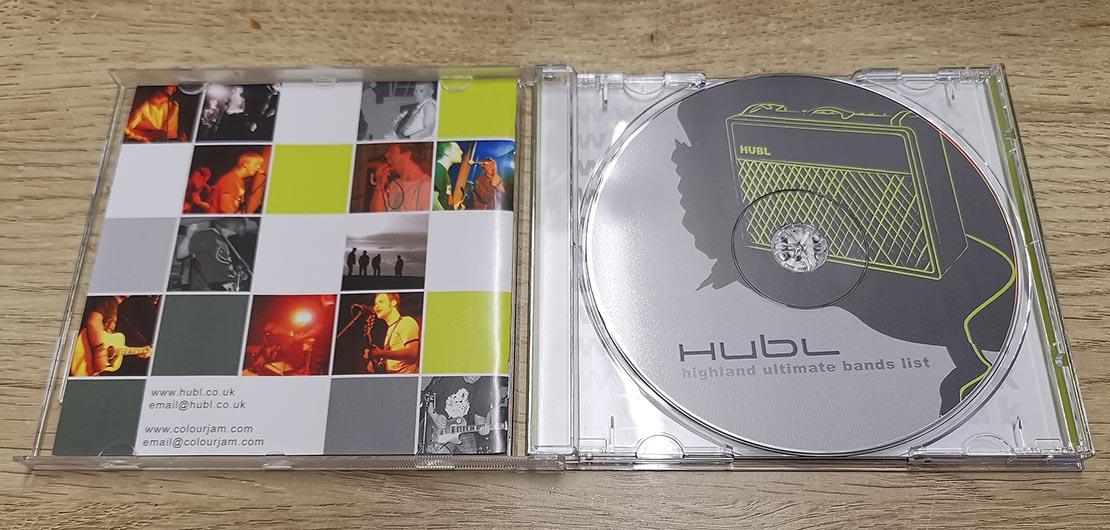 Highland Ultimate Bands List CD