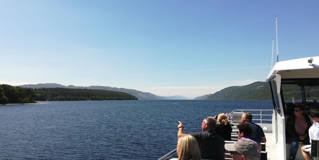 Jacobite Loch Ness cruises