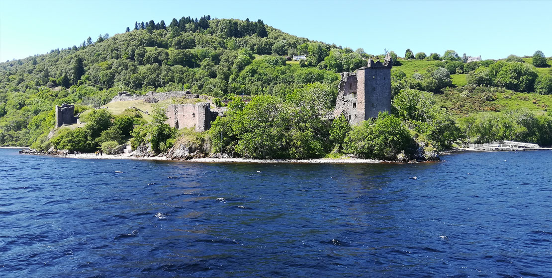 Historic Urquhart Castle - Jacobite experience