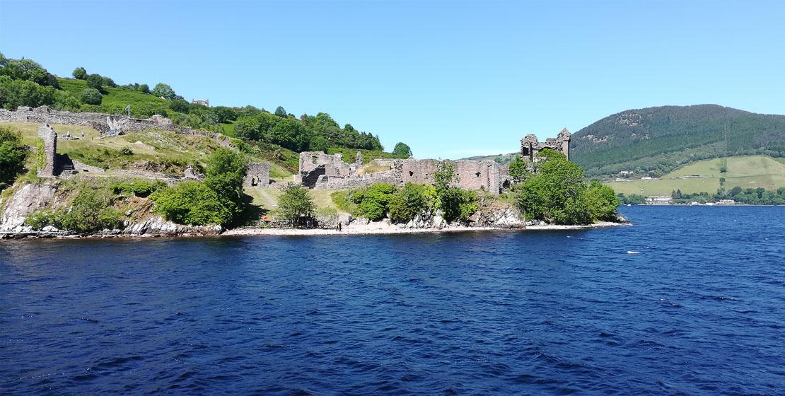 Trip past historic Urquhart Castle