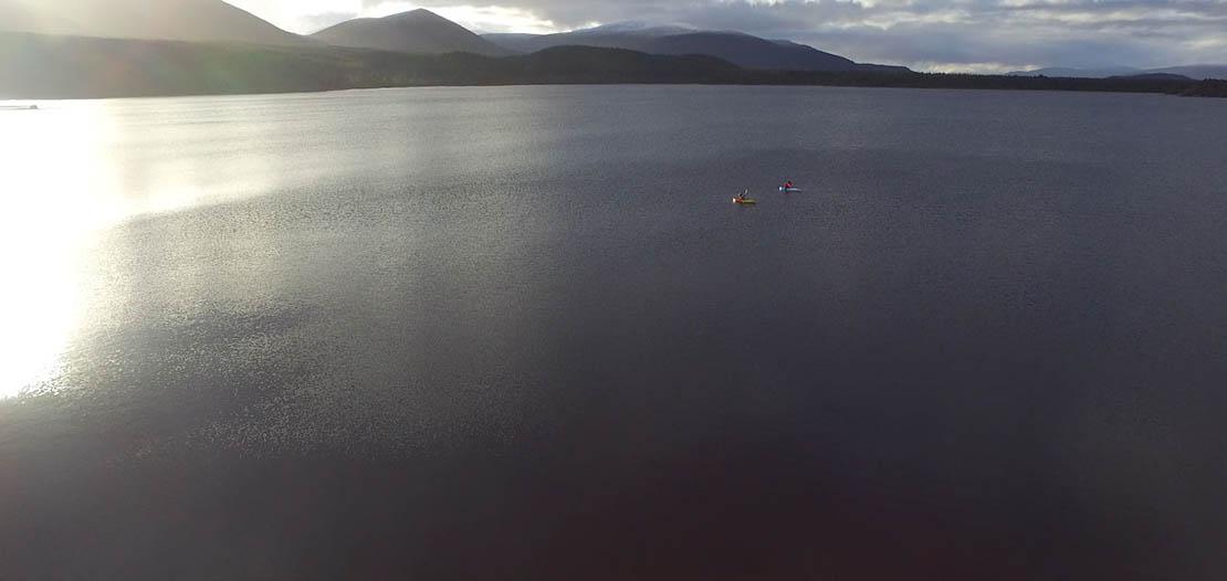 Kayaking on Loch Morlich Watersports