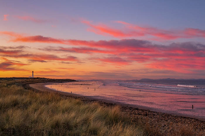 The magnificent Moray Firth / Coast in North East Scotland