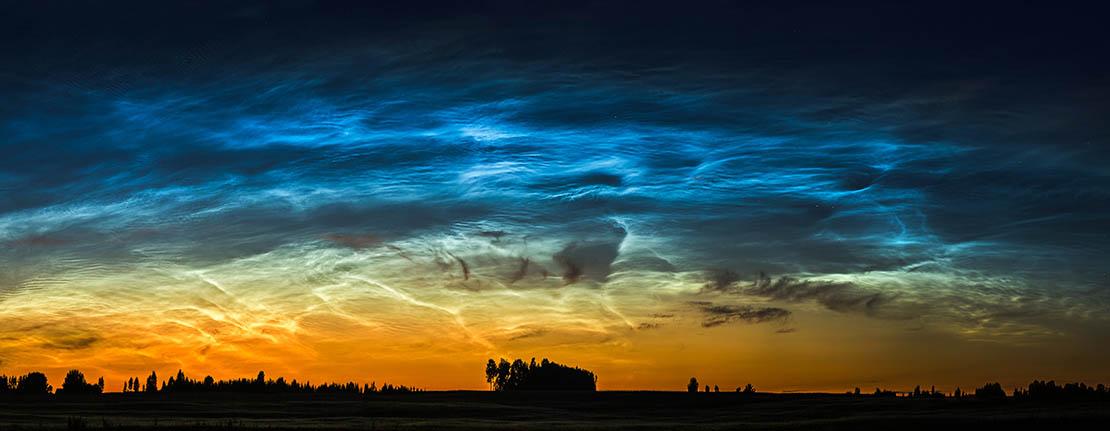 Low latitude noctilucent clouds in Scotland