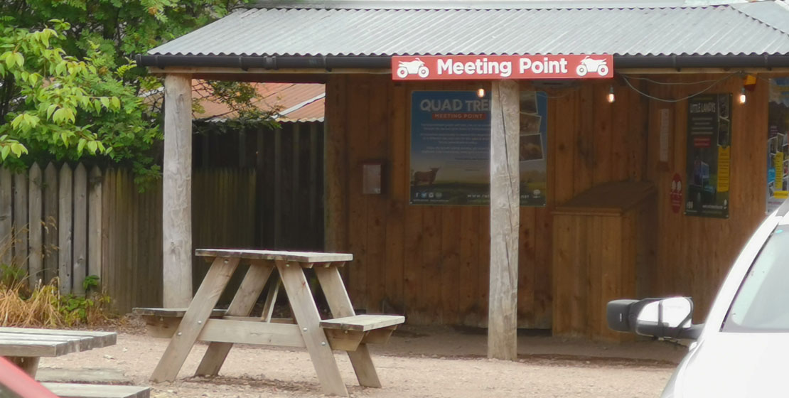 The meeting point.