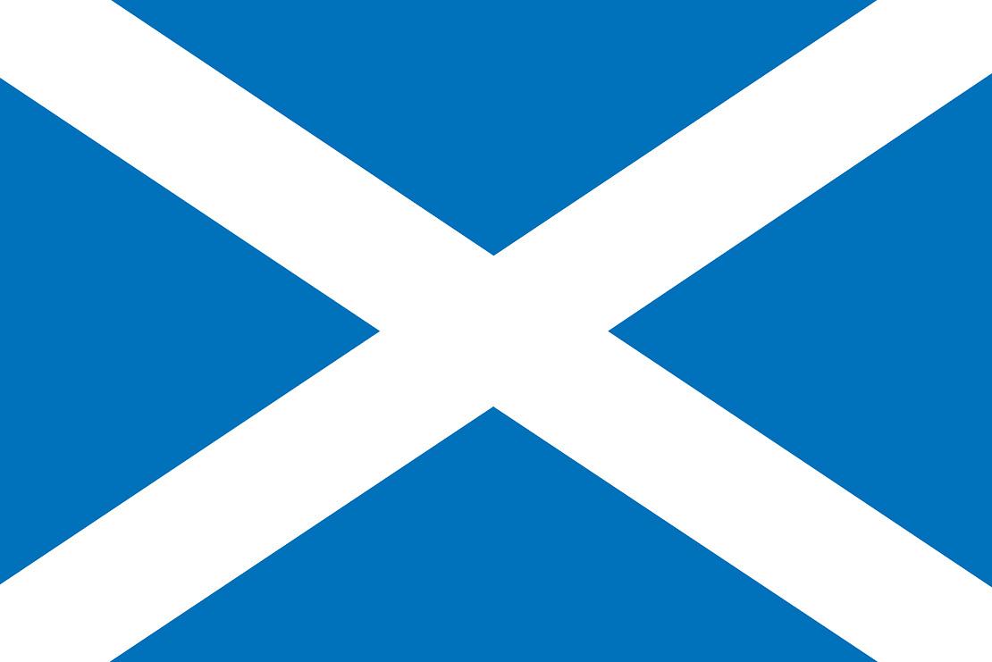 The Saltire - Flag of Scotland | Saint Andrew's Cross