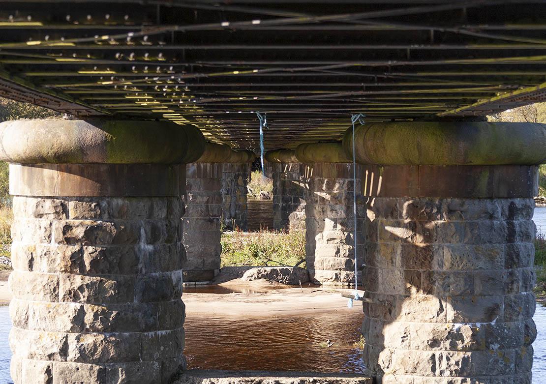 Below the Viaduct