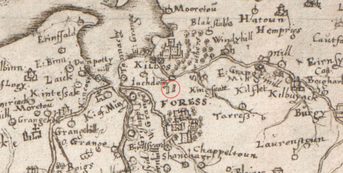 Pont's Map
