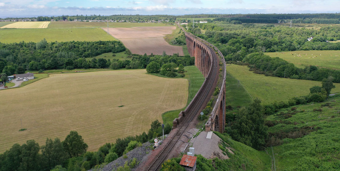 Culloden Viaduct   Inverness shire