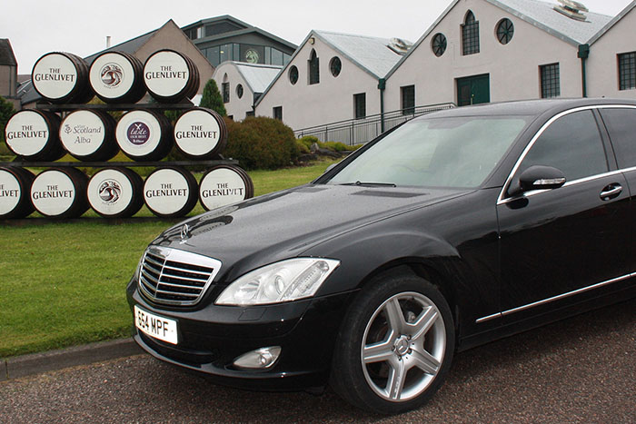 Whisky tour with Speyside Executive Hire